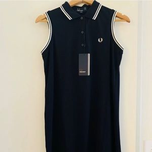 Fred Perry Sleeveless Shirt Dress NWT